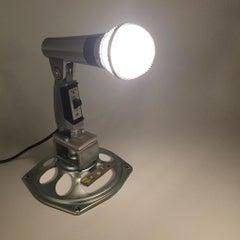Original 1960s Shure 565 S Microphone Repurposed Lamp Sculpture