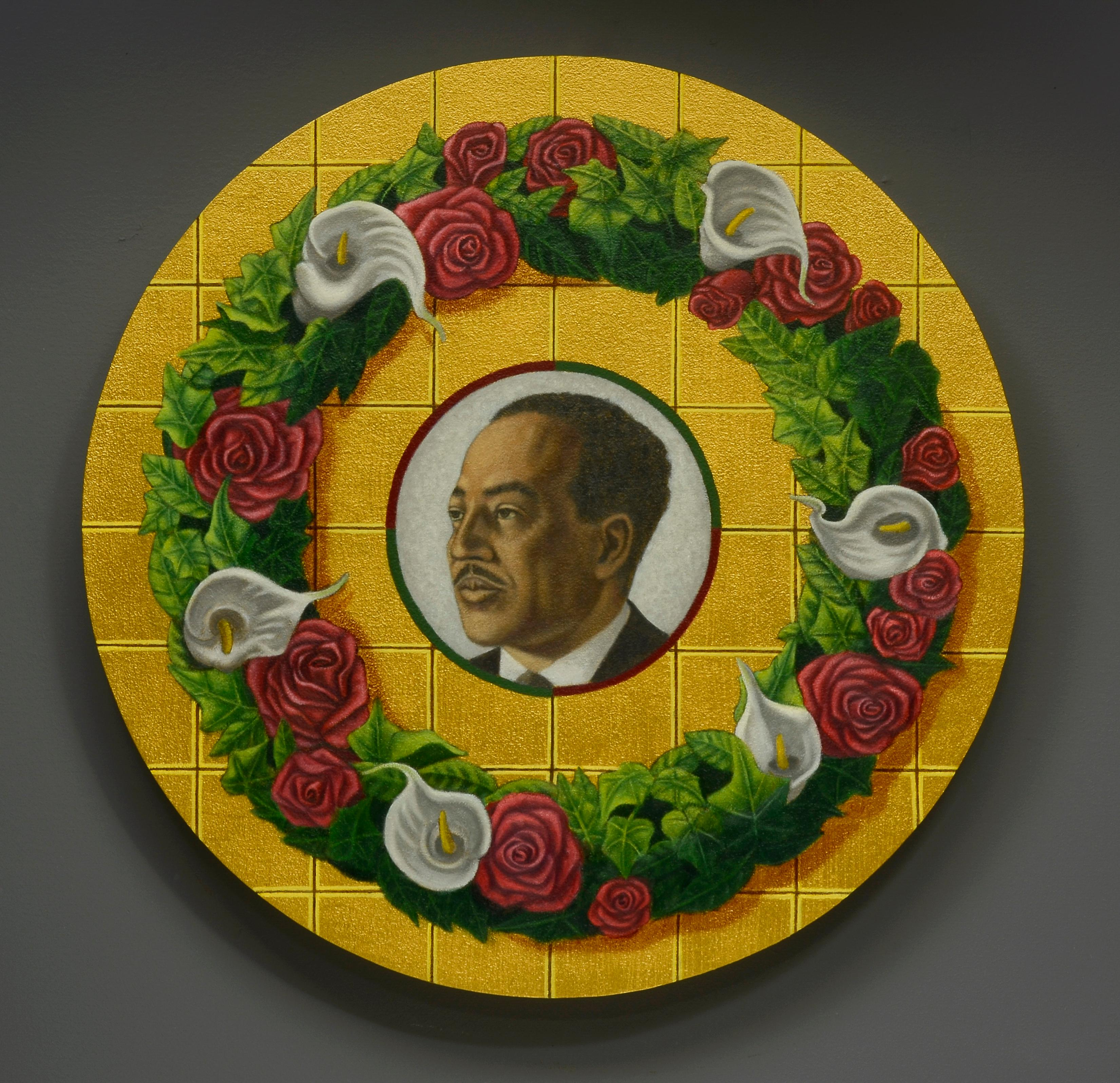Memorial Portrait: Langston Hughes