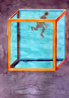 Untitled (Man in Water Tank)