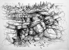 Untitled (Landscape with Rocks)