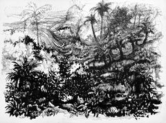 Untitled (Apocalyptic Tropical Landscape)