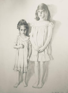 Untitled (My Mother and Her Sister as Children), State II