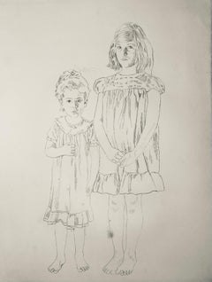 Untitled (My Mother and Her Sister as Children), State I