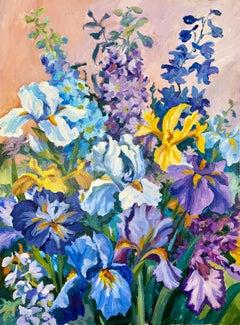 Untitled (Riotous Summer Flowerpiece)