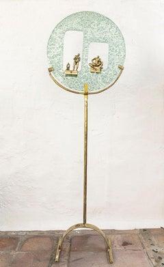 """ Tuat Den "" unique abstract sculpture with figures"