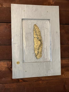 """Mural """"Ourika"""" tracks   unique abstract wall sculpture"""