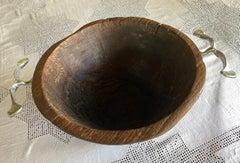 Wooden bowl  unique piece
