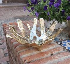 RIP BOWL  designed by DM sand cast brass, handmade in spain