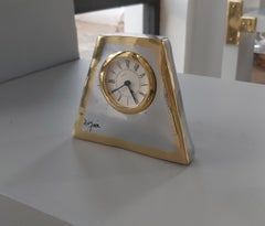 Original Trapeze Clock designed and produced by David Marshall