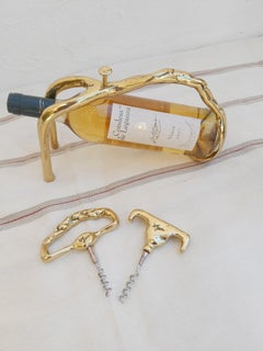 C008 PLAITED WINE POURER DESIGNED AND PRODUCED BY DAVID MARSHALL
