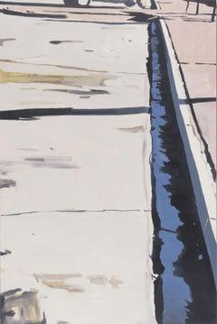 """""""Dante's View #2"""" / Painting, desert, sublime, landscape, oil on canvas, photo"""
