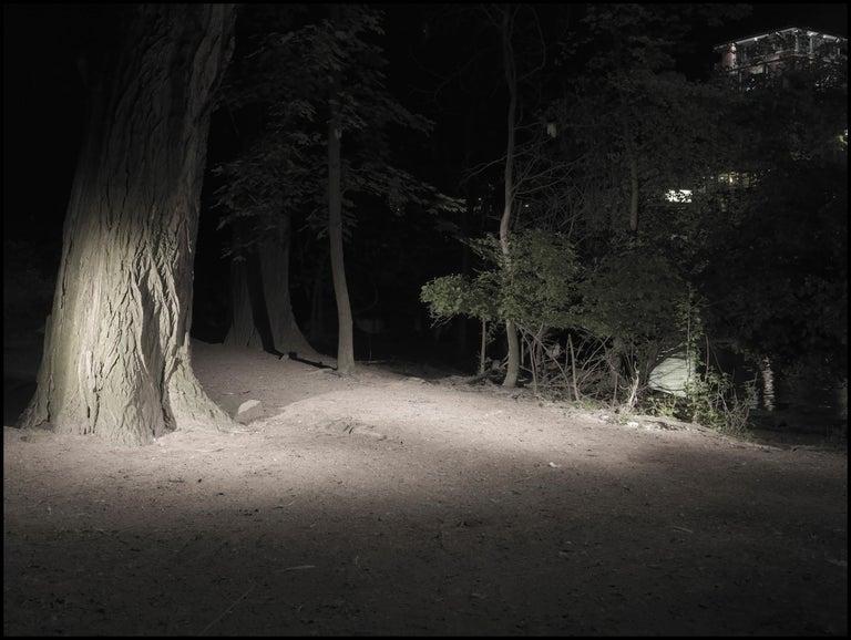 Rebecca Ann Tess Landscape Photograph - Missing Image #7 / color photograph, gender, lgbt, landscape, cruising area