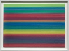 """""""Farbverlauf 1"""" (""""Color Gradient 1"""") / colored drawing, markers, office, minimal"""