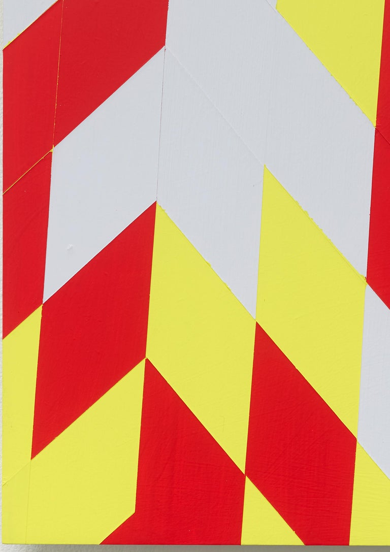 Jonas Maas (*1985, lives and works in Düsseldorf) graduated at the Düsseldorf Academy in 2014 in the class of Tomma Abts. In his œuvre he deals with the subject of