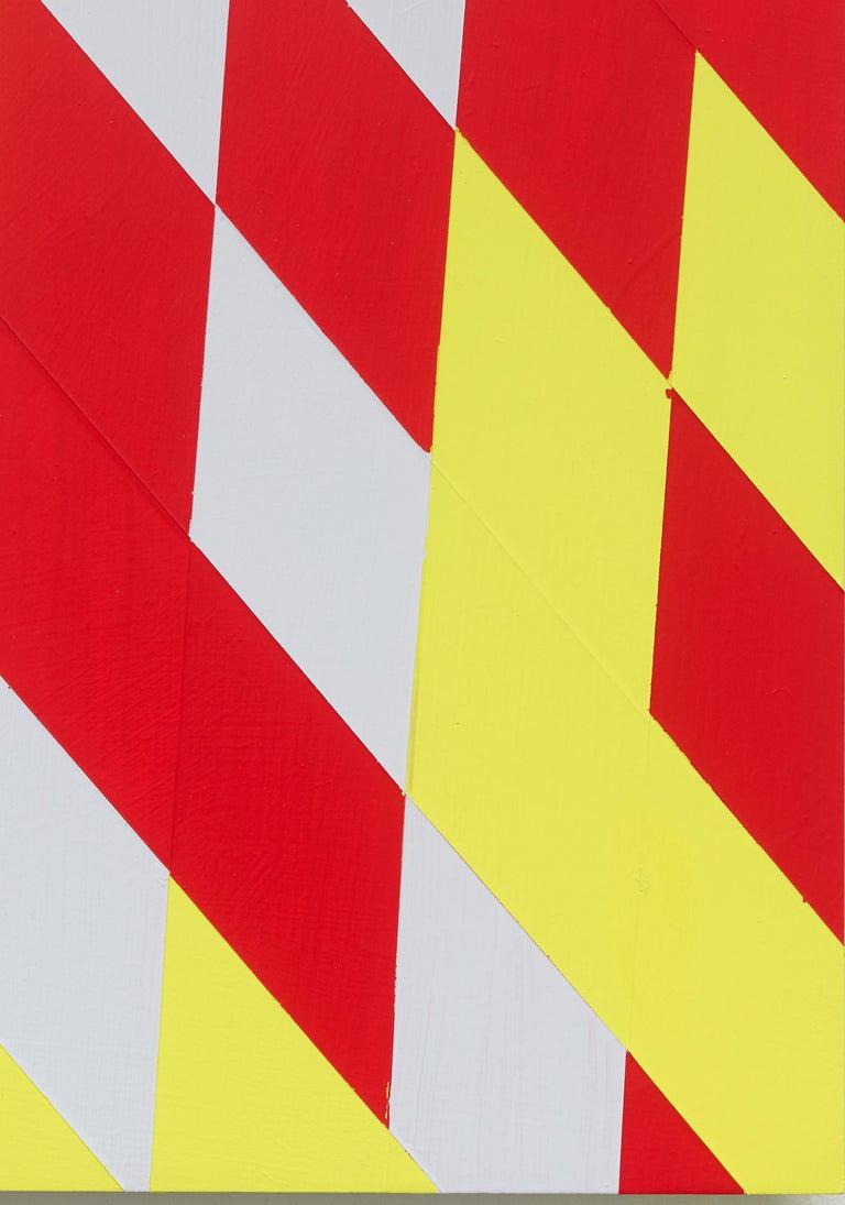 Untitled (M 114) / Rhombus, red, yellow, constructivist, hard edge, minimalist For Sale 1