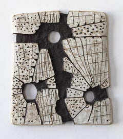 """MEMORY OF... FOR SB"", sculpture, clay, relief, abstract, contemporary, ceramic"