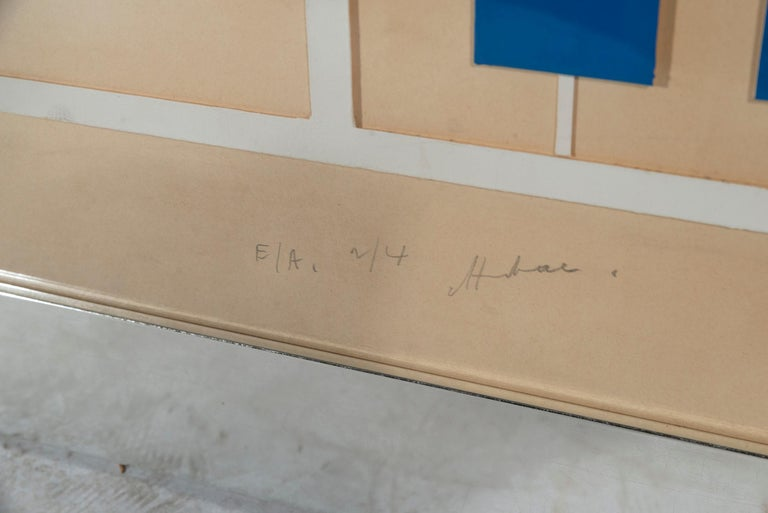 Albert Chubac, Painting, Signed, circa 1980, France For Sale 1