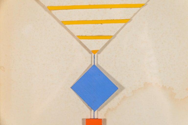 Albert Chubac, Collage, circa 1980, France For Sale 1