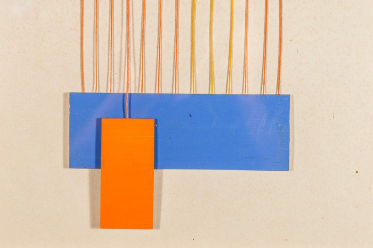 Albert Chubac, Collage, circa 1980, France - Abstract Geometric Mixed Media Art by Albert Chubac