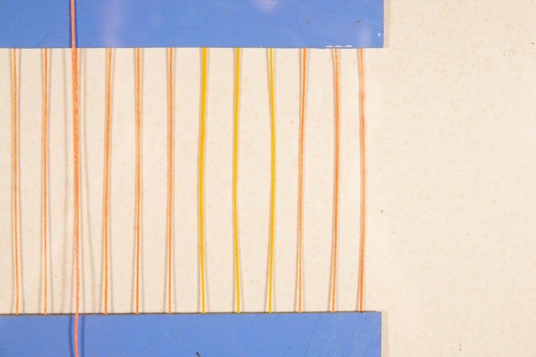 Albert Chubac,  Collage and cutout,  gouache,  circa 1980, France.  Measures: Height 56 cm, width 62 cm, depth 3 cm.
