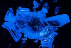 'Brain' Original Art Color Photography Print Black Blue Limited Edition