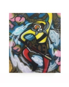 Monkey King (Journey to the West) Contemporary Pop Original Painting Colorful