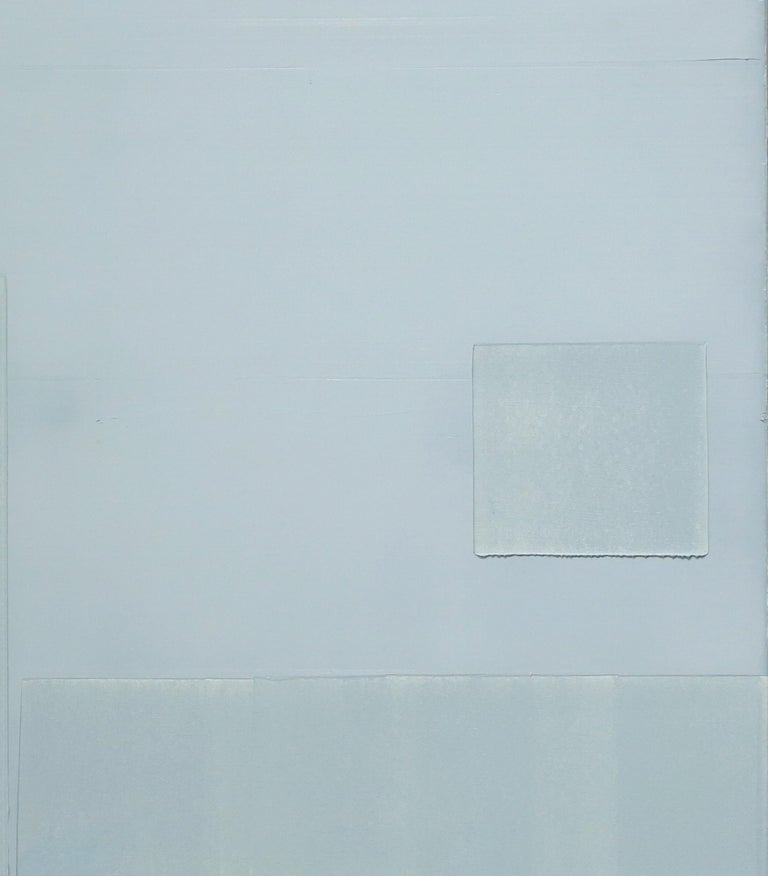Contemporary minimalist oil painting by GJ Kimsunken 'Figuration 19.21' Mint For Sale 2