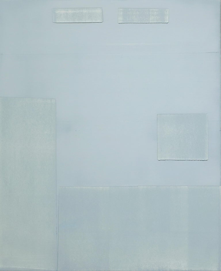 Contemporary minimalist oil painting by GJ Kimsunken 'Figuration 19.21' Mint For Sale 1