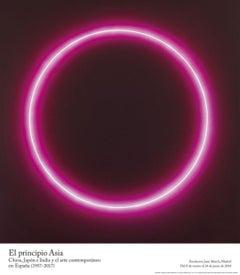 Museum Exhibition Poster 'Vesper (Serie Enso)' Minimal Zen