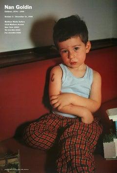Nan Goldin 'Children 1976-1996' - 1996 Exhibition Poster 23 x 16 in 58.4 x 40.6