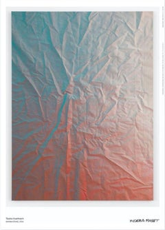 Poster Untitled (Fold) Gradient Color Abstract Minimal