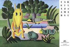 'A Cuca' Exhibition Poster avant-garde Brazilian Modernist
