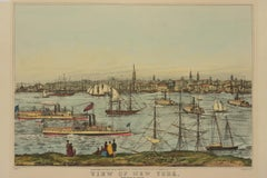 View of New York from Brooklyn Heights