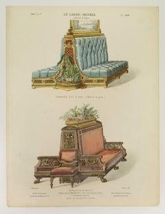 Le Garde Meuble: Collection de Sieges [Seating]; Livraison 286, No. 1699