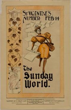 The Sunday World; St. Valentine's Number, Feb. 14