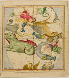 A Plan of the Solar System: The Constellations in December, November, October