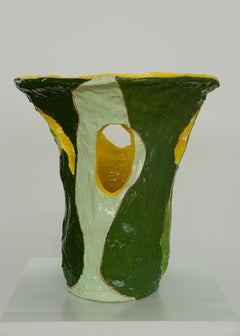 Marliz Frencken, ceramics (sculpture, vase, object, modernist, interior)