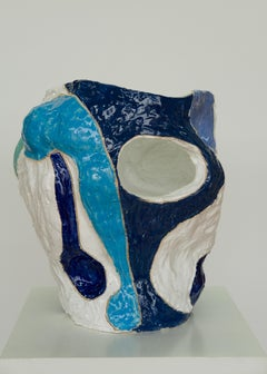Marliz Frencken, ceramic vase (sculpture, object, modernist, interior)