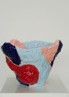 Marliz Frencken, ceramic vase (sculpture, object, abstract, interior)