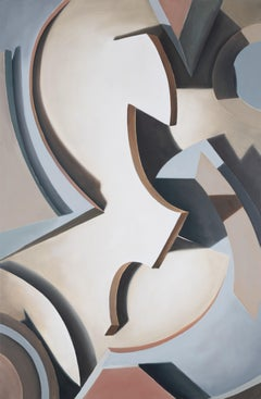 Jasper Hagenaar, Composition nr5, oil on canvas (figurative, abstract, painting)