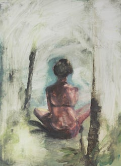 Jasper Hagenaar (a woman sitting in yoga pose)