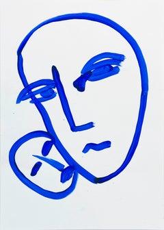 Marliz Frencken (a portrait in blue)