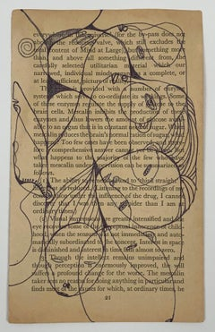 Isheanesu Dondo (Drawing of animals and faces with  black marker on a book page)