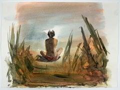 Jasper Hagenaar (drawing of person in a yoga pose)