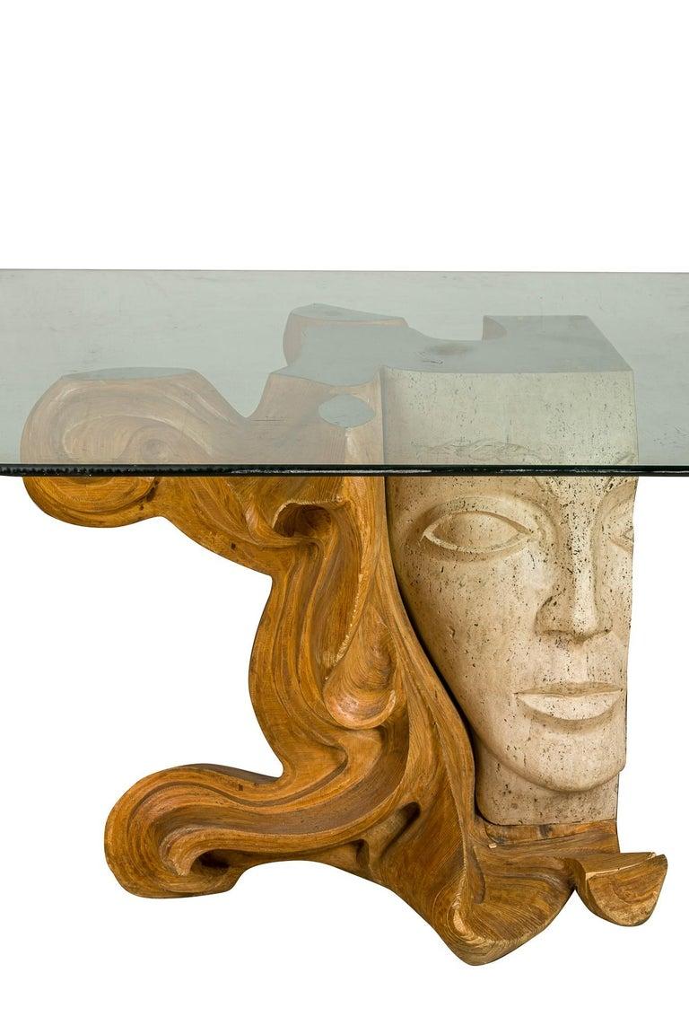 Vintage Figurative Female Sculpture Primavera Signed Romeo Tamanti Italian  For Sale 3