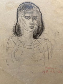 "Modernist Portrait of ""Mary, Beverly Hills, 1938"" by the Russian-American Master"