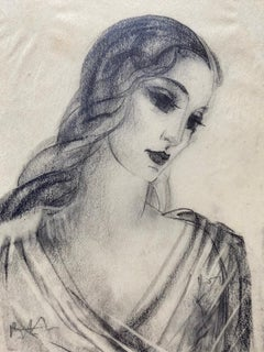 Idealized Representation of a Woman, Three Quarters, Facing Right, Circa 1934.