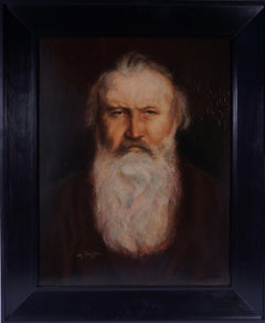 Portrait of Johannes Brahms, before 1939