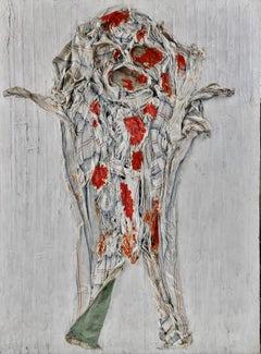 Wounded Figure. Art Brut, Arte Povera, Circa 1959.