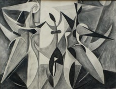 The Dance (El Baile), 1932, Santos Balmori. A Cubist work from the Paris years.